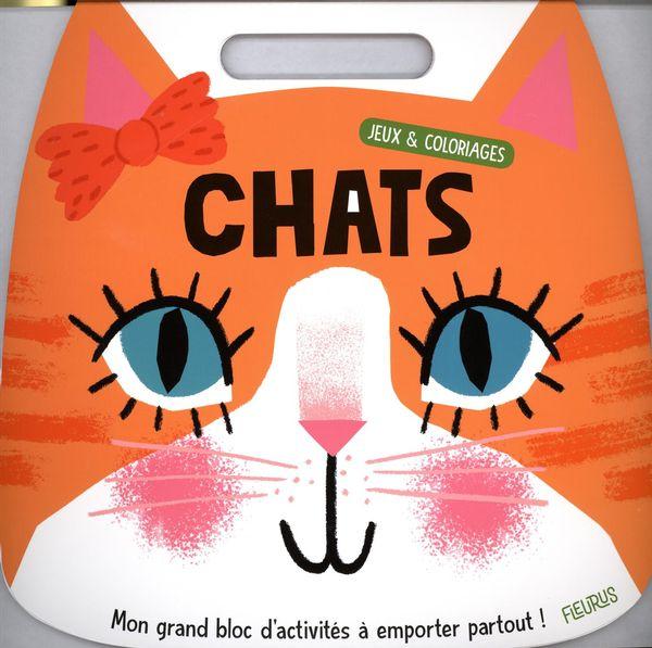 Jeux et coloriages - Chats