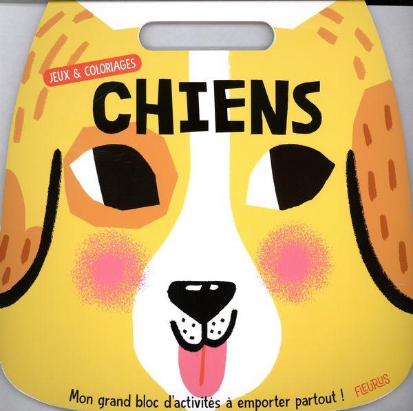 Jeux et coloriages - Chiens