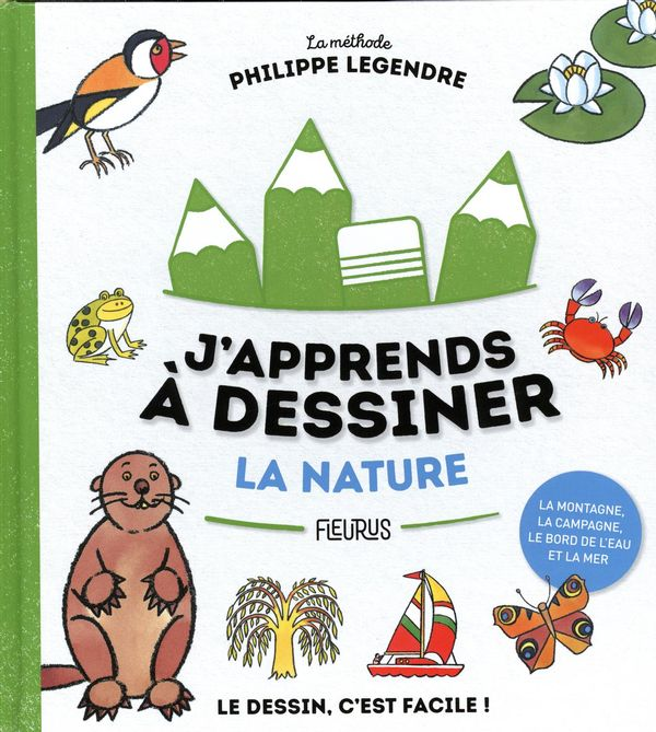J'apprends à dessiner la nature N.E.