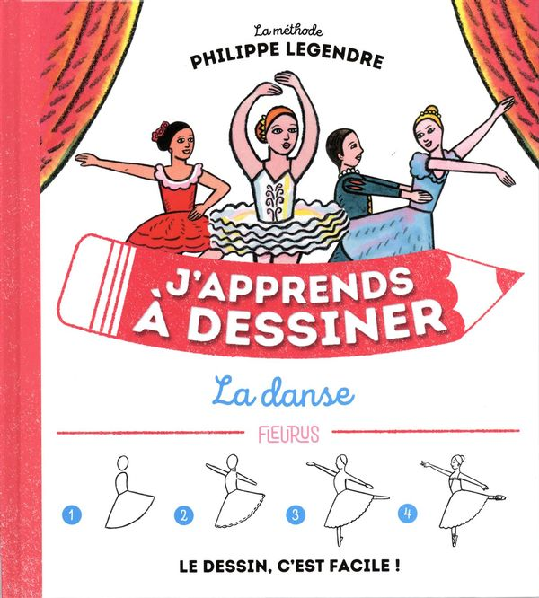J'apprends à dessiner la danse N.E.