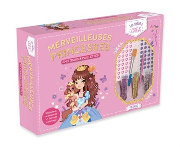 Merveilleuses princesses en strass & paillettes