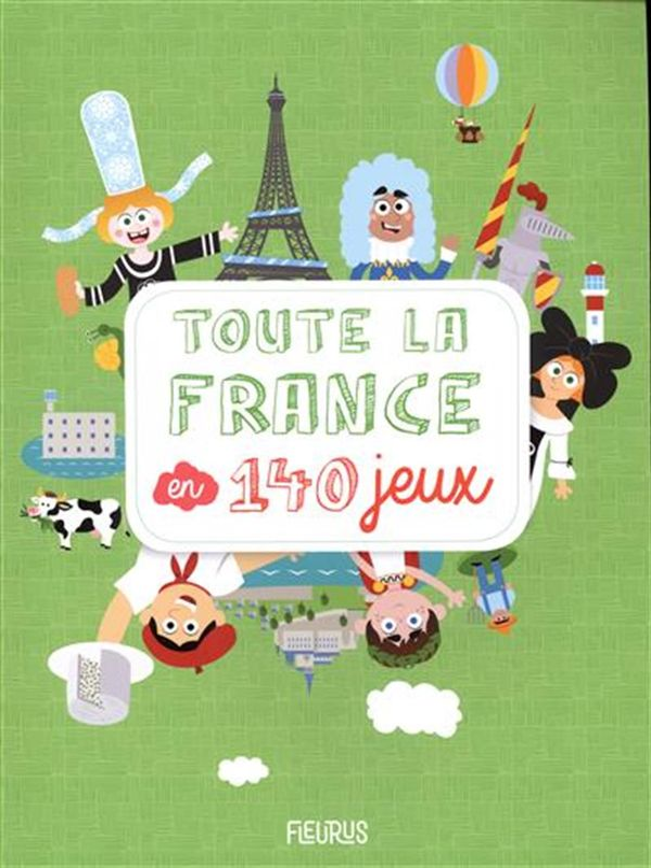 Toute la France en 140 jeux