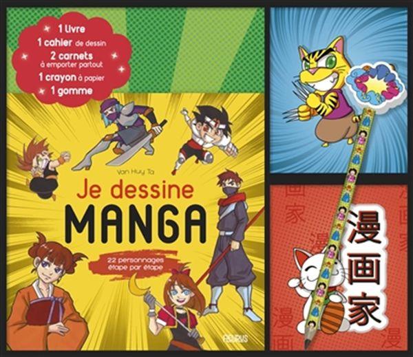 Coffret Je dessine manga