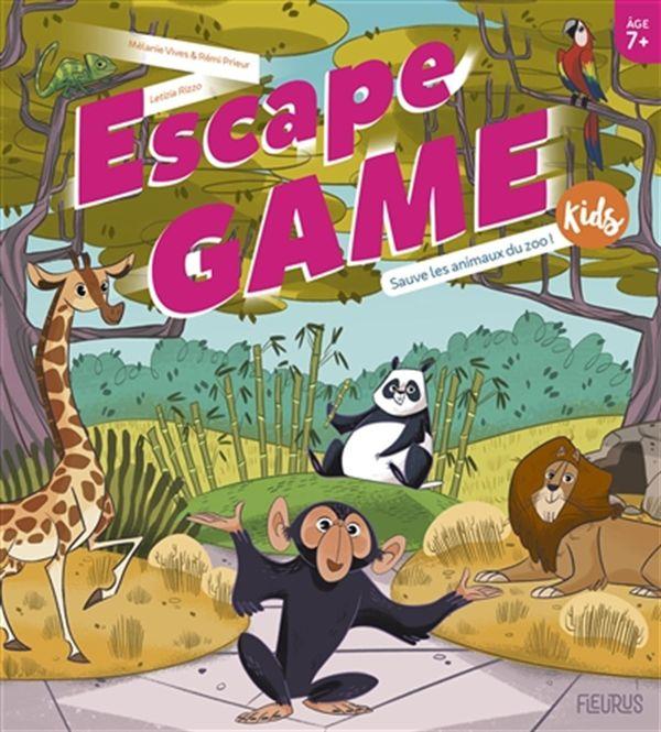 Escape Game Kids - Sauve les animaux du zoo!