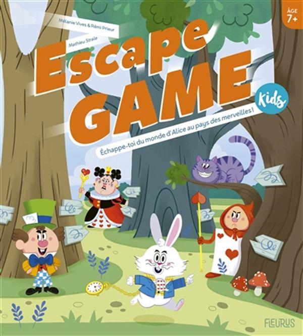 Escape Game Kids - Echappe-toi du monde d'Alice au pays des merveilles!