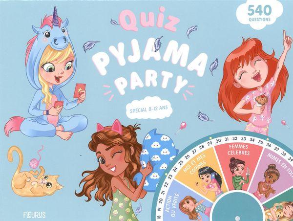 Quiz et défis pyjama party N.E.