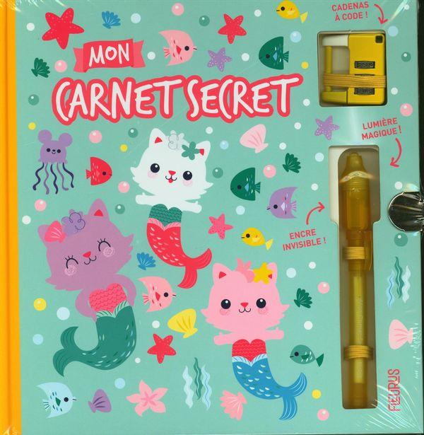 Mon carnet secret - Chat-sirènes