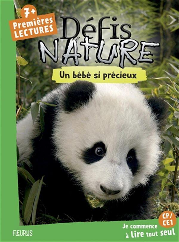 Défis nature Premières lectures : Un panda à l'aventure