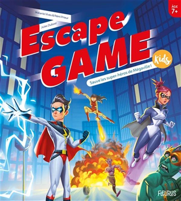 Escape Game Kids : Sauve les super-héros de Mégaville !