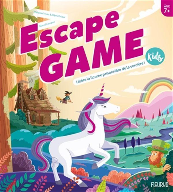 Escape Game Kids : Libère la licorne de la sorcière !