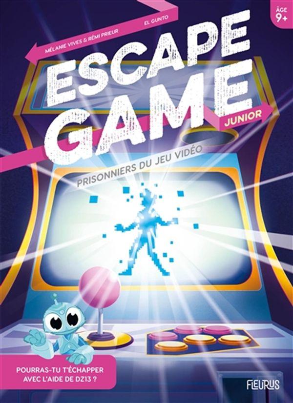 Escape Game Junior : Prisonniers du jeu vidéo