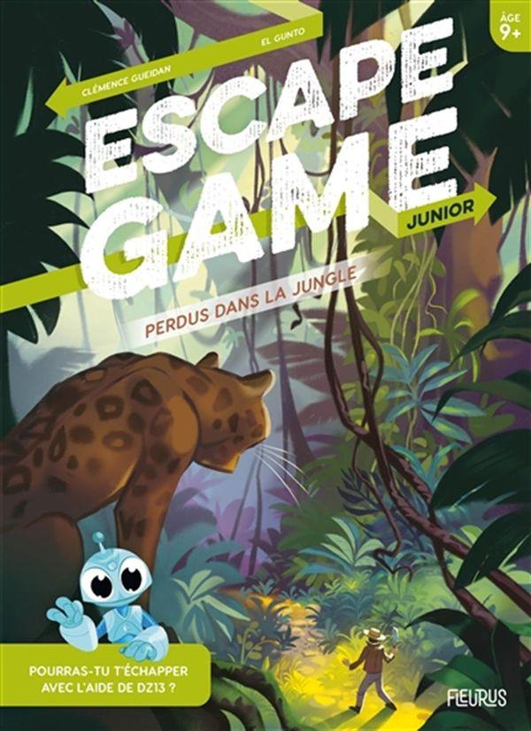 Escape Game Junior : Perdus dans la jungle