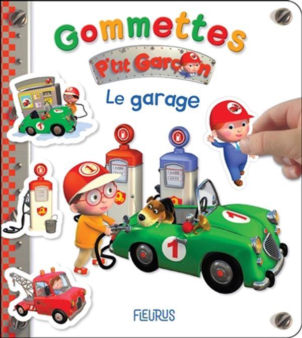 Le garage - Gommettes P'tit garçon
