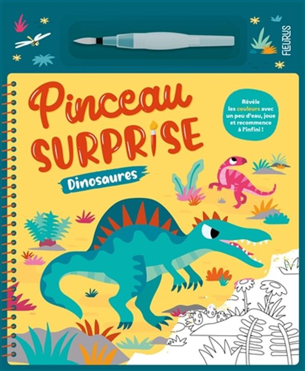Pinceau surprise : Dinosaures