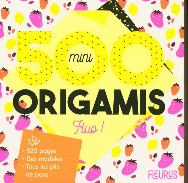500 mini origamis Fluo !