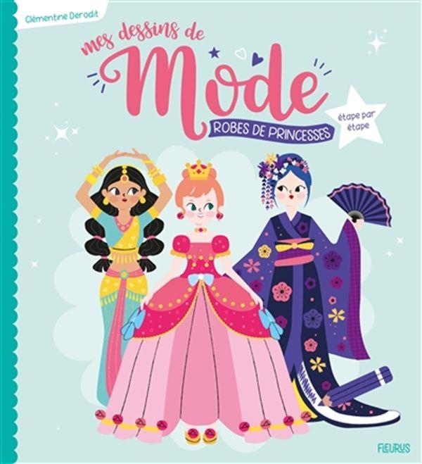 Mes dessins de mode : Robes de princesses