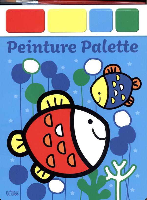 Peinture palette : Les poissons