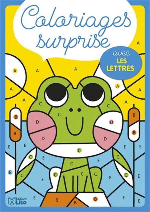 Coloriages surprise avec les lettres