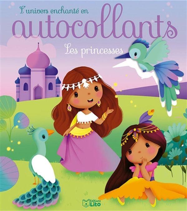 Les princesses - autocollants