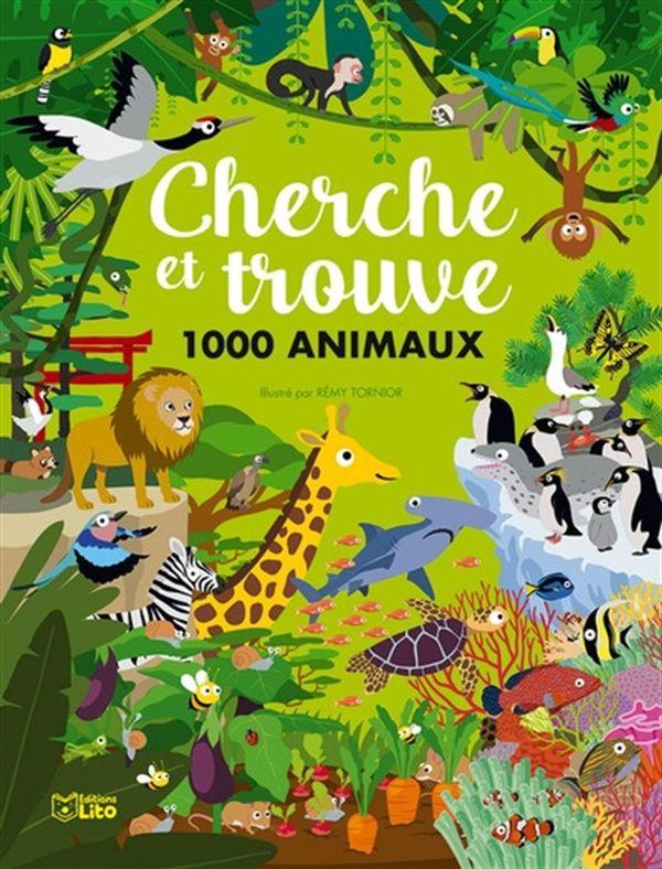Cherche et trouve 1000 animaux