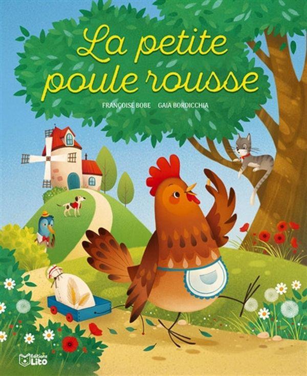 Petite poule rousse La