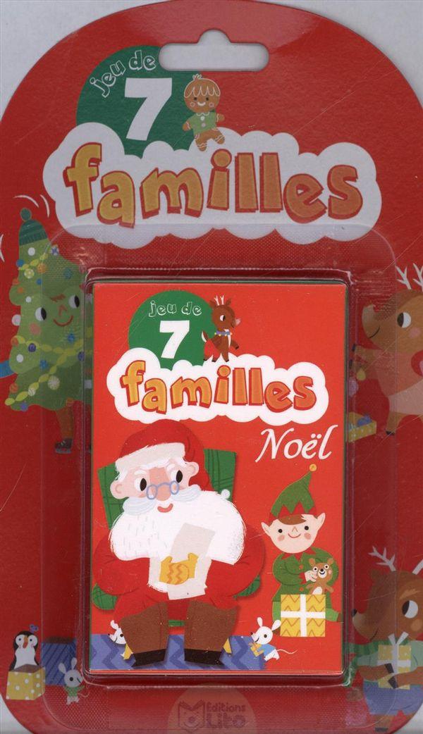 Jeux de 7 familles - Noël