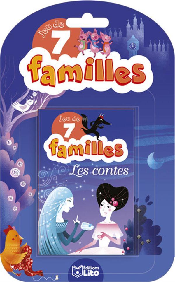 Jeu de 7 familles - Les Contes