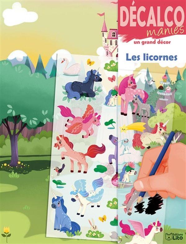Les licornes - Décalco manies