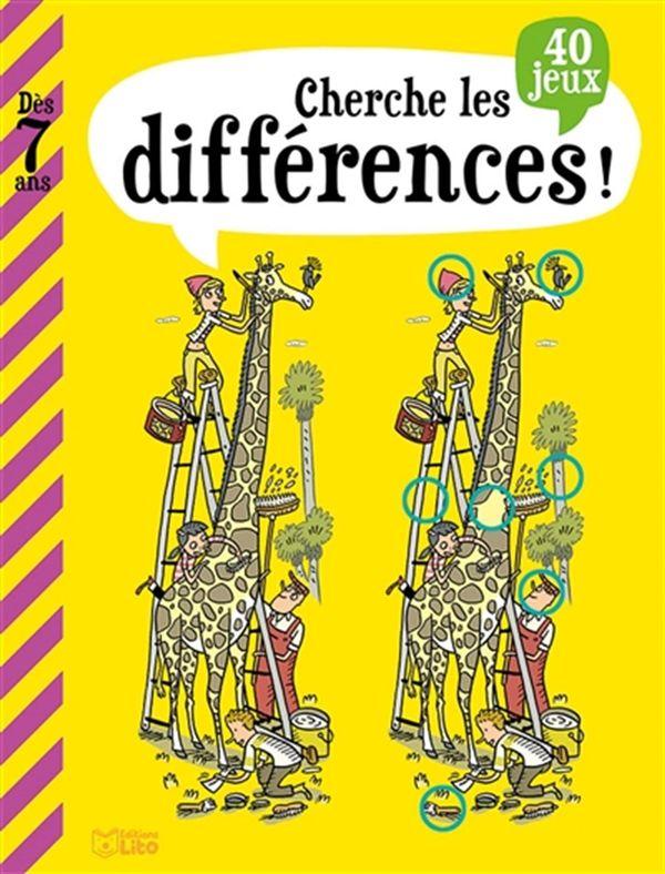 Cherche les différences! dès 7 ans