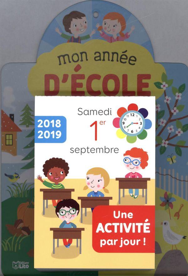 Mon année d'école 2018-2019