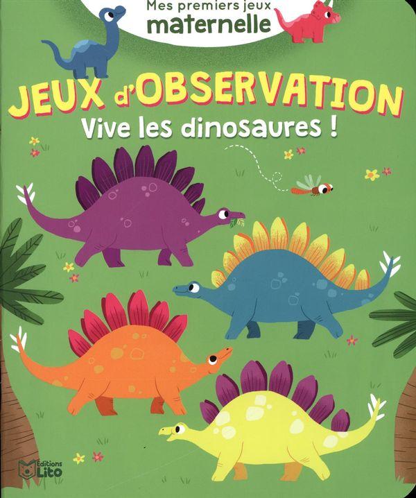 Jeux d'observation : Vive les dinosaures !