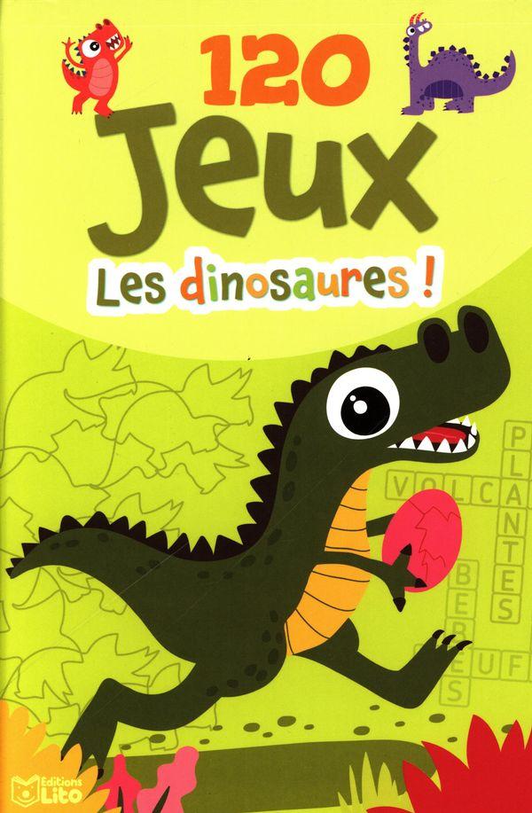 120 jeux Les dinosaures !