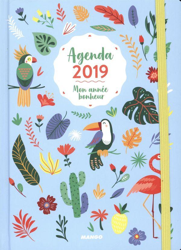 Agenda 2019 : Mon année bonheur