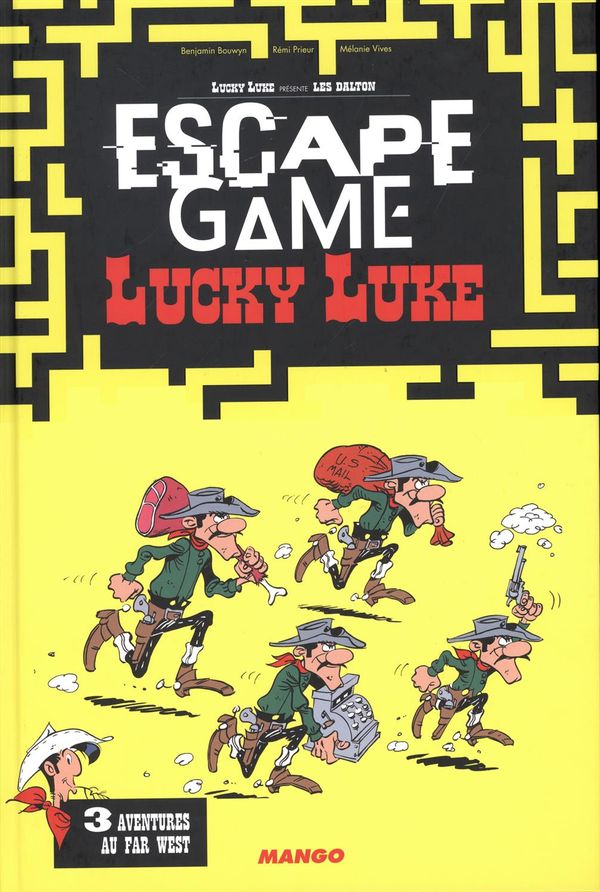 Escape game Lucky Luke 03 : Aventures au far west