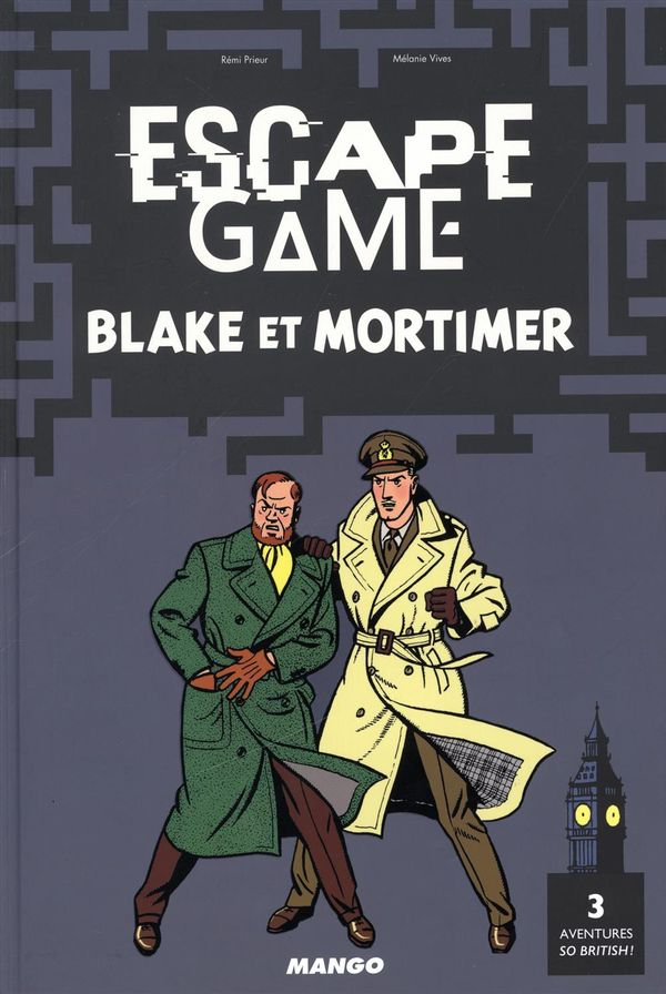 Escape game : Blake et Mortimer