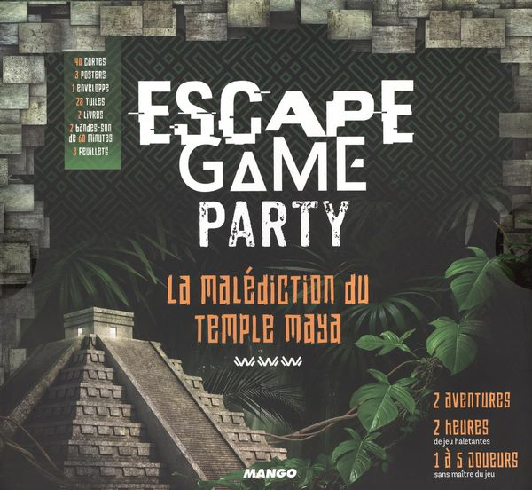 Espace game party - La malédiction au temple Maya