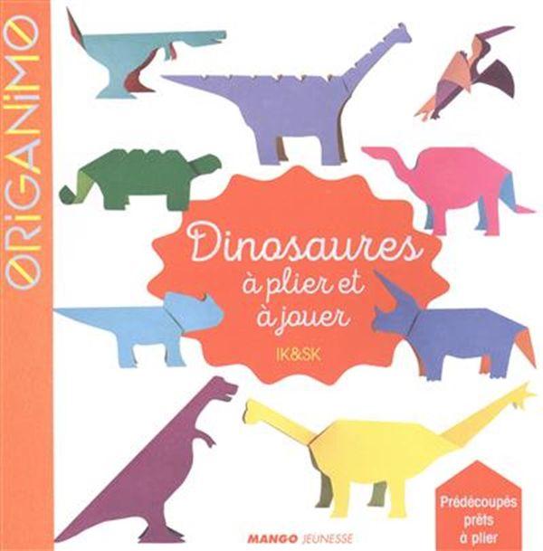 Dinosaures à plier et à jouer