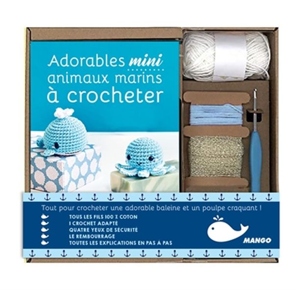 Coffret mini crochet marin