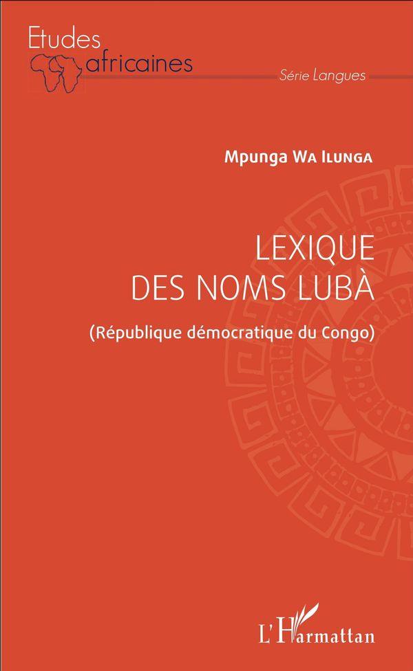 Lexique des noms lubà