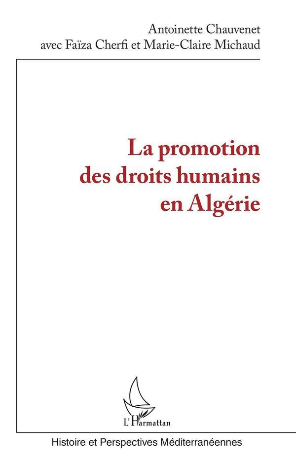 La promotion des droits humains en Algérie