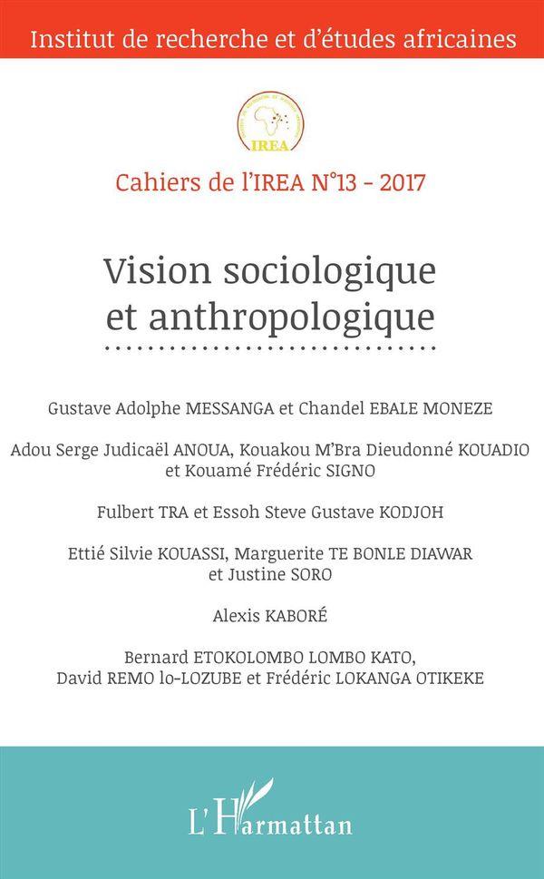 Vision sociologique et anthropologique