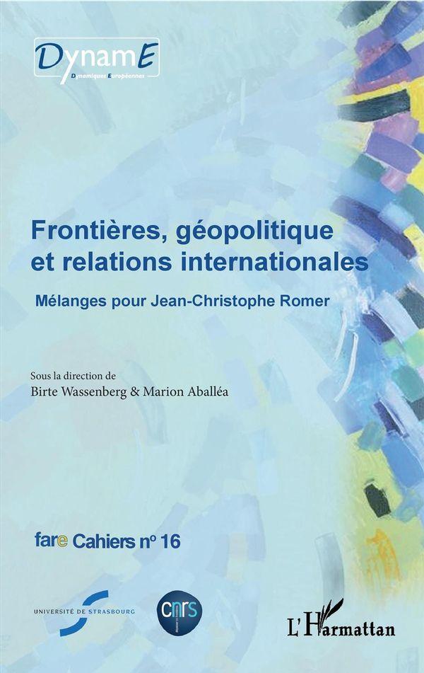 Frontières, géopolitique et relations internationales