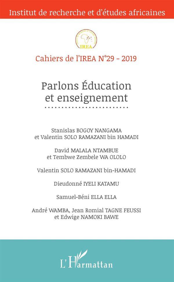 Parlons Education et enseignement