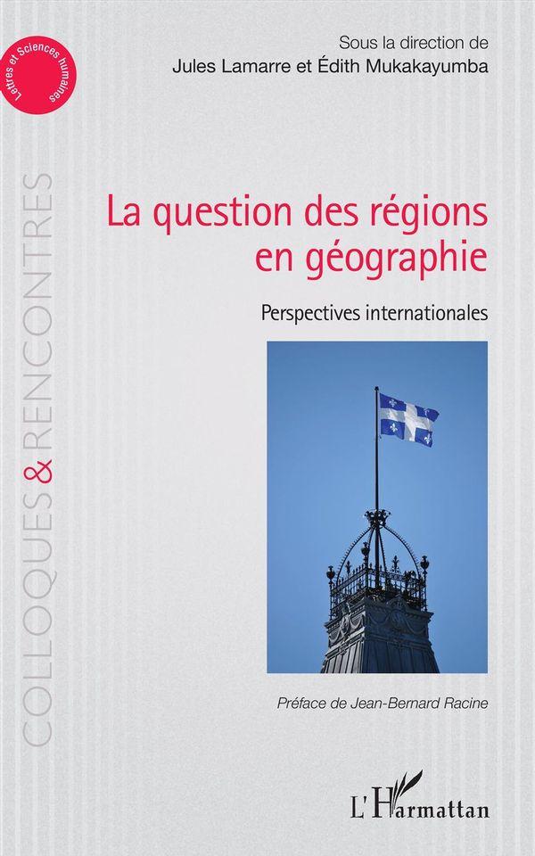 La question des régions én géographie