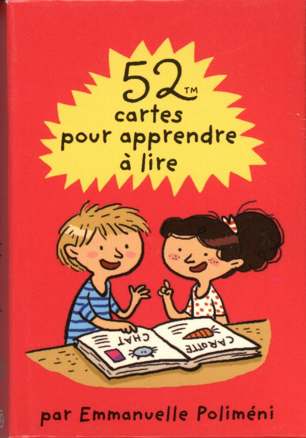 52 cartes pour apprendre à lire