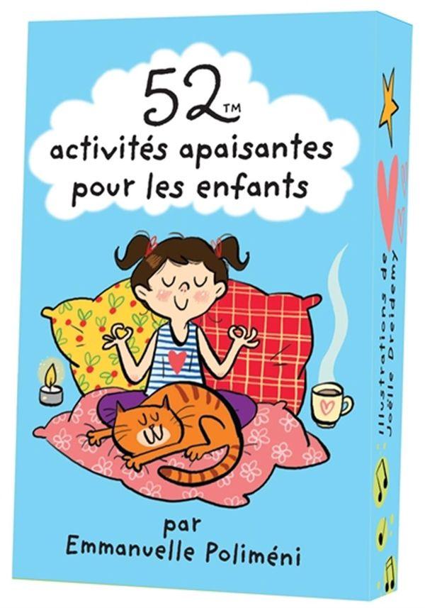 52 activités apaisantes pour les enfants