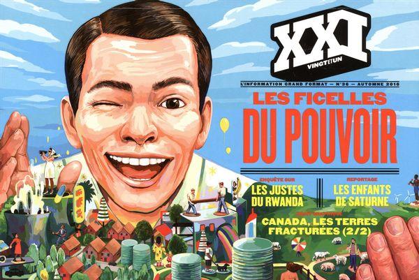 Revue XXI 36 : Les ficelles du pouvoir