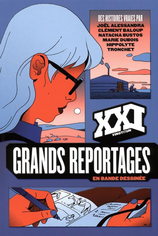 Revue XXI Hors série Grands reportages en bande dessinée