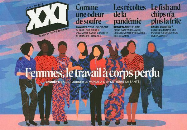 Revue XXI 51 : Femmes, le travail à corps perdu