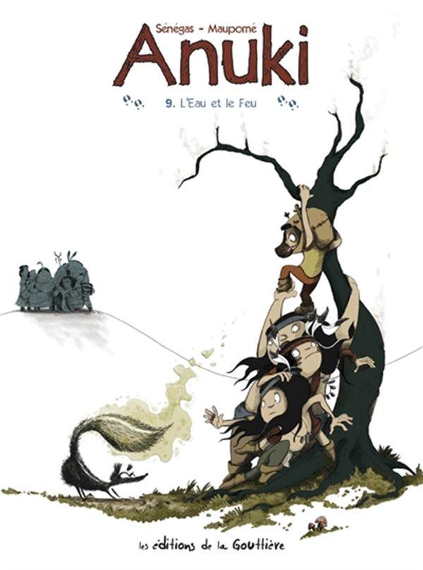 Anuki 09 : L'eau et le feu